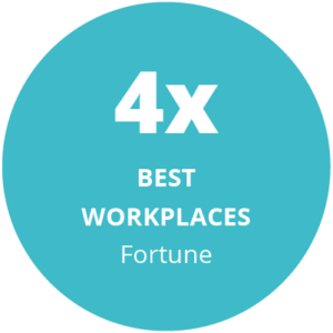 4x best workplaces award fortune