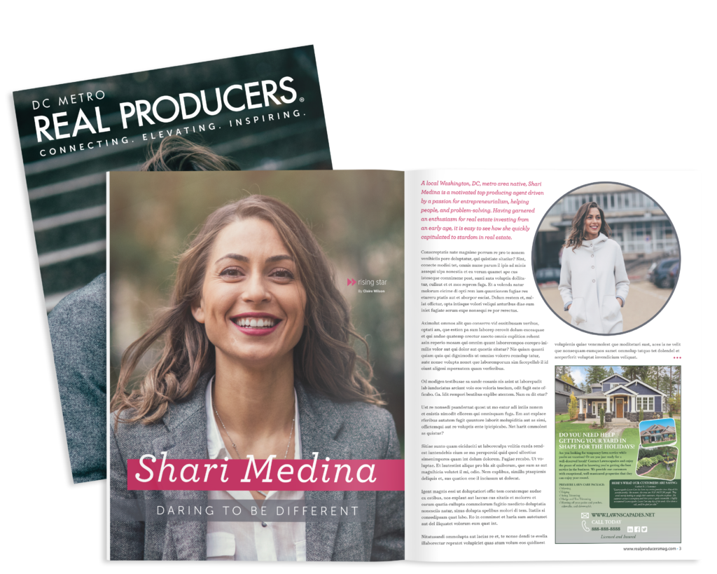 real producers hyper-local magazine