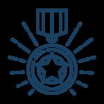 medal badge star