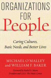 organizations for people michael o'malley william f. baker book cover