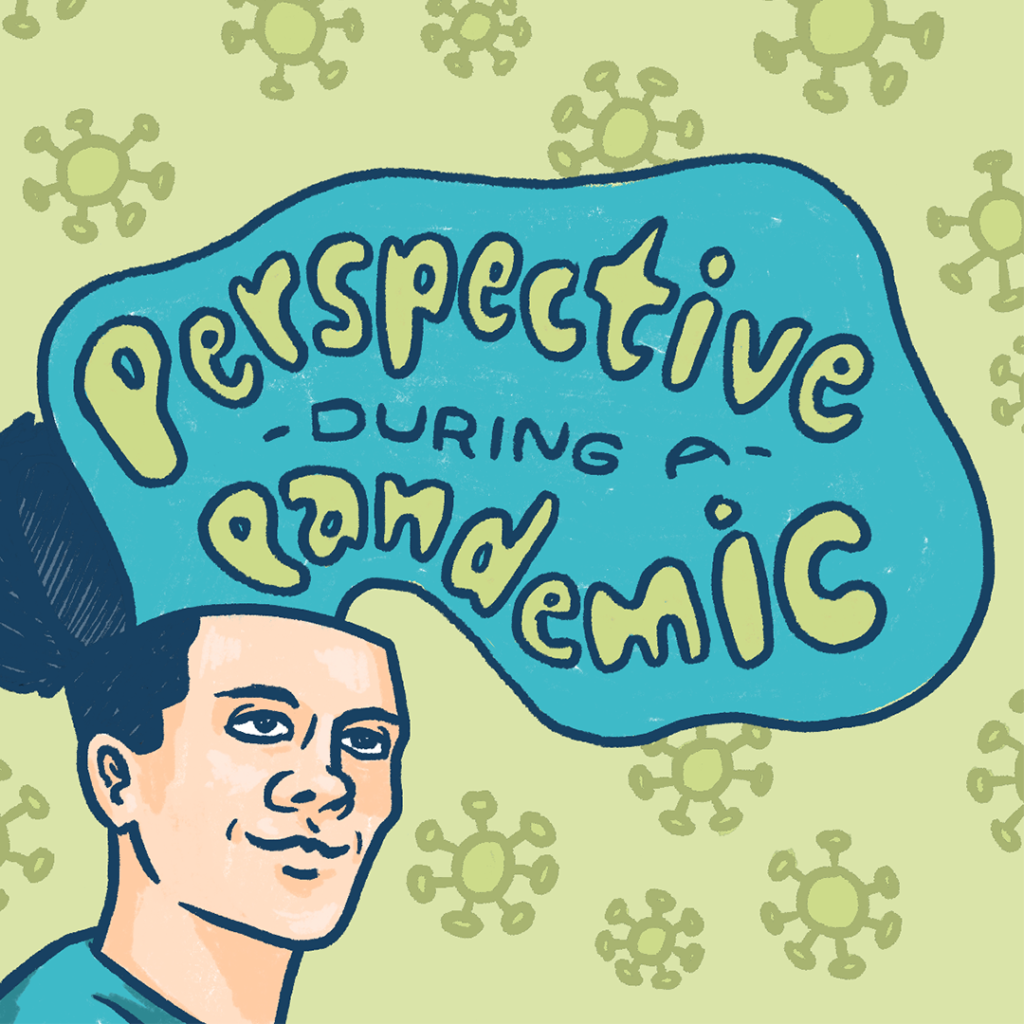 man with a thought bubble above his head