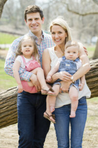 Amanda Kirkpatrick and family